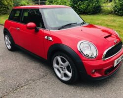 2012 MINI Cooper S in Chili Red with Chili Pack SAT NAV & quite the Head Turner