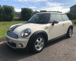 2011 MINI One in Pepper White with Pepper Pack & Bluetooth
