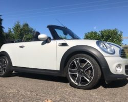 Lindsey chose this 2015 MINI Cooper Convertible with Big Spec and in Great Condition too with Low Miles