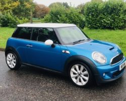 2011 MINI Cooper S in Lazer Blue with BIG SPEC