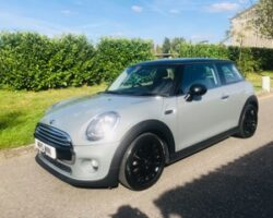 Stacey has chosen this 2017 Mini Cooper Auto in Moonwalk Grey with Chili Pack & More