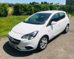 Carol chose this 2015 Vauxhall Corsa 1.4 ecoFLEX Excite 5dr [AC] in White with Service History