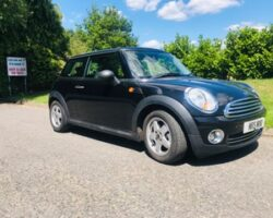 Deposit taken Kiaha has chosen this 2009 MINI One in Black with 1.4cc engine – ideal for young drivers & Kiaha passed her test in December – well done