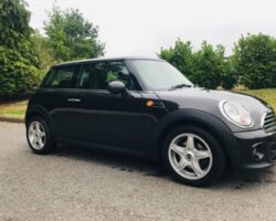 SOLD as Jenny has chosen this 2013 MINI One Automatic with Upgraded Alloy Wheels & Full Service History In Metallic Ice Chocolate