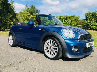 2012 MINI Cooper Convertible Avenue with John Cooper Works Bodykit & Chili Pack Plus she has Low Miles just 29K