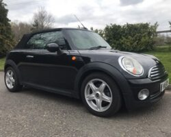Reservation fee accepted from  Olivia who has chosen this 2009 Mini Cooper Convertible in Black with High Spec