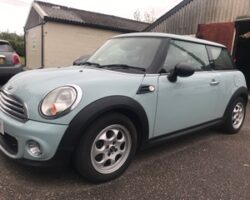 Katherine chose this 2012 / 62 MINI One AUTOMATIC in Ice Blue with Bluetooth + More