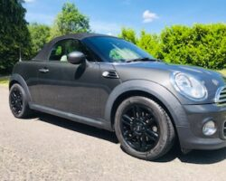 Martin chose this & has paid the deposit on this  2014 MINI Roadster Cooper with Full Cream Leather Interior