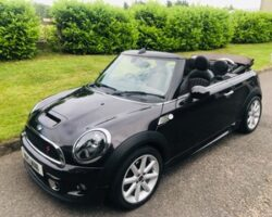 Lucy has chosen this  2013 / 63 Limited Edition Mini Cooper S Highgate Convertible with HUGE Spec