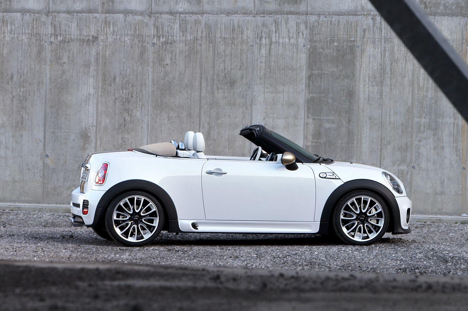 2013 Mini Cooper Roadster in Pepper White with Pepper Pack
