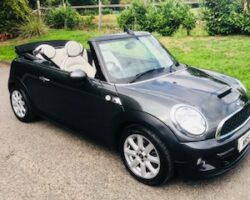 2013 Mini Cooper S Convertible in Eclipse Grey with Chili Pack