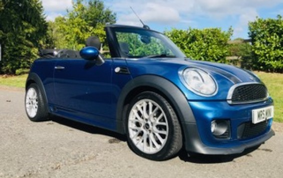 Too Late – Adam has paid his deposit on this 2012 MINI Cooper Convertible Avenue with John Cooper Works Bodykit & Chili Pack Plus she has Low Miles just 29K