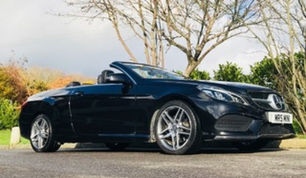 2015 Mercedes-Benz E Class 2.1 E220 CDI BlueTEC AMG Line Cabriolet with BIG SPEC