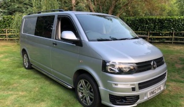 Off on its travels for this 2012 VW Transporter 2.0 Tdi T32Kombi DSG (Automatic) 4 Dr (LWB) Camper Conversion