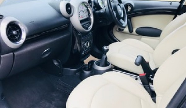 2011 MINI Cooper S All 4 Countryman In Black with Cream Leather
