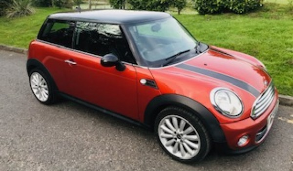 2011 / 61 MINI Cooper in Spice Orange with Stunning Specification & Low Miles with Full Service History too
