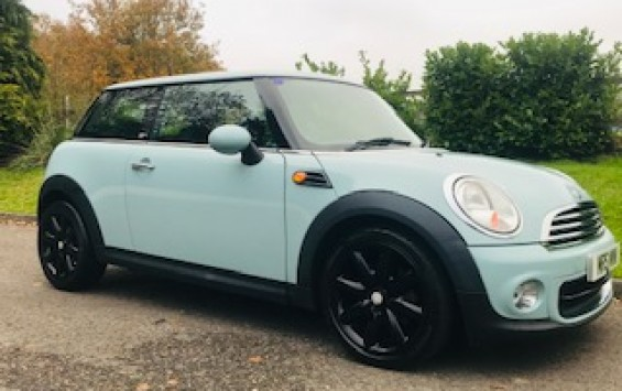 2013 MINI First In Ice Blue with Service History & Low Miles for age