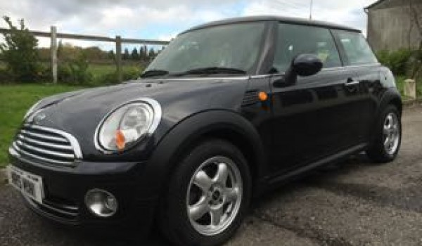 2007 Mini Cooper Automatic Black With Full Leather Mrs Mini Used