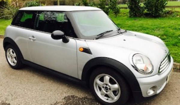 2008 MINI One in Pure Silver with Low Miles & Full Service History