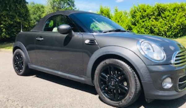Too late, we've taken a deposit on this 2014 MINI Roadster Cooper with Full Cream Leather Interior
