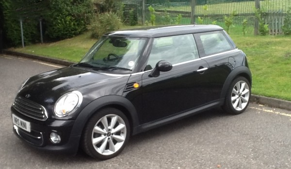 """Sarah-Jane is """"Pammy"""" & we have tinted the rear windows for her too…   2010 /60 MINI COOPER with HIGH SPEC WHITE LEATHER SEATS & so much more"""