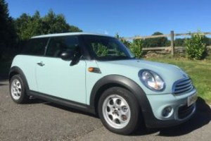 2011 / 61 MINI One in Ice Blue with Service History & Low Miles for age