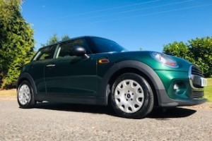 2017 MINI One in British Racing Green with Low Miles