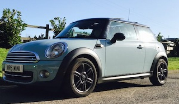 2011 MINI Cooper in Ice Blue with Chili Pack FULL CREAM LEATHER SPORTS SEATS, SUNROOF & SO MUCH MORE