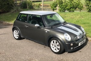 2006 Mini Cooper Park Lane in Royal Grey with Low Miles