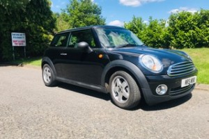 2007 / 57 MINI One 1.4 In Black with Plenty of Service History