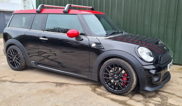 2011 John Cooper Works MINI Clubman with low miles & great spec
