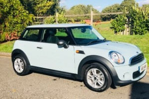 2013 MINI One In Ice Blue with LOW MILES Cruise Control Full History & More