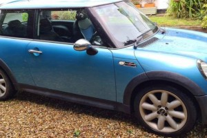 2004 Mini Cooper S in Electric Blue with Chili Pack