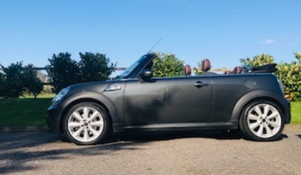 Off To The Isle Of Mann For This 2012 Mini Cooper S Convertible In
