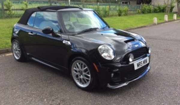 Too Late – she's gone !!   2010 / 60 MINI Cooper S Convertible in Black with Full Cream Leather Sports Seats
