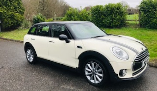 2016 Mini Cooper Clubman in Pepper White with Lots of Optional Extras