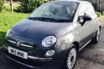 What a wonderful Birthday present – 2012 Fiat 500 Lounge – Rare in Grey with Bluetooth & Just Serviced