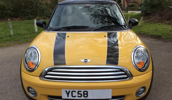Barbara has chosen this 2008 / 58 MINI Cooper with Chili Pack in Yellow