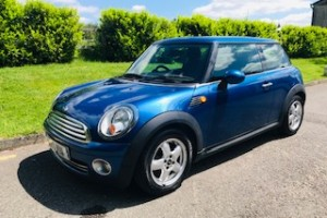 2009 MINI One 1.4 in Blue with Low Miles & Service History