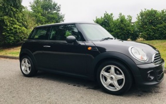 2013 MINI One Automatic with Upgraded Alloy Wheels & Full Service History In Metallic Ice Chocolate