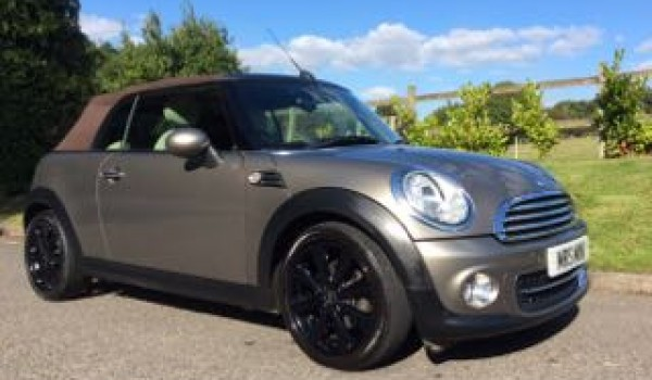 2011 Mini Cooper Convertible With Chili Pack Velvet Silver Mrs