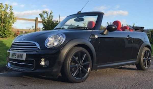 Carol Has Chosen This 2012 Mini Cooper Convertible Automatic With