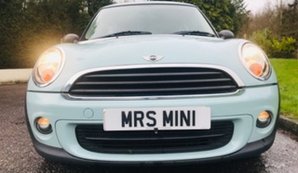 2011 / 61 MINI One In Ice Blue with Full Service History